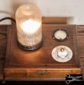 Silverware Box Lamp (SOLD)